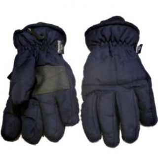 Athletic Works Mens Blue Snow & Ski Winter Gloves with