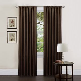 Lush Decor Brown 84 inch Luis Curtain Panels (Set of 2)