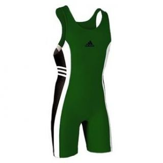 HC Adidas Response Wrestling Singlet; Hunter, Youth Large
