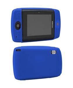 Mobile Sidekick LX Silicone Skin Blue Cover Case