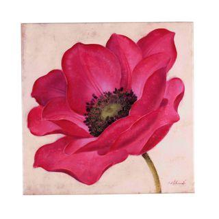 Fabrice de Villeneuve Jaunty Flower Limited Edtion Giclee Canvas Art