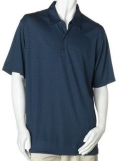 Greg Norman Mens Performance Tonal Jacquard, Navy (Size