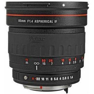 Vivitar 85 mm f/1.4 Aspherical Lens for Canon SLRs