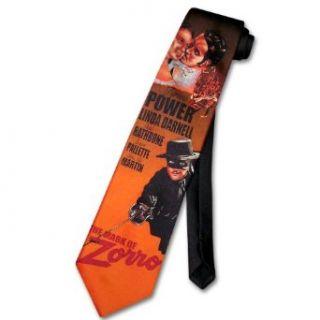 Mark of ZORRO Neck Tie Tyrone Power Mens NeckTie