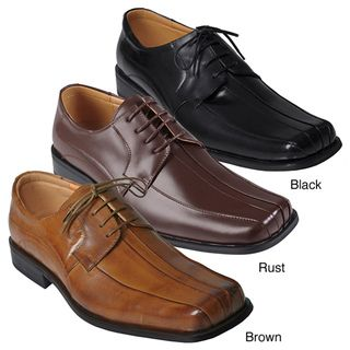 Boston Traveler Mens Genuine Leather Oxfords