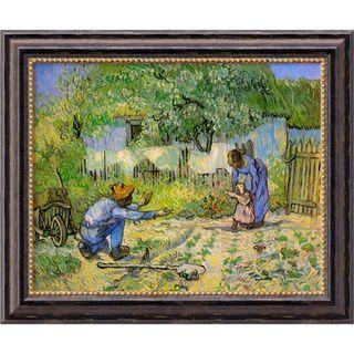 Vincent Van Gogh First Steps Framed Canvas Art