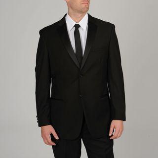 Caravelli Mens Slim Fit Black Tuxedo