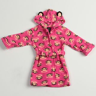 Small Paul by Paul Frank Toddler Girls Monkey Face Robe