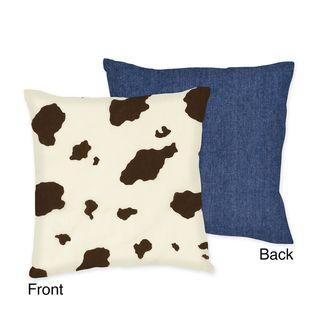 Sweet JoJo Designs Western Horse Cowgirl Throw Pillow