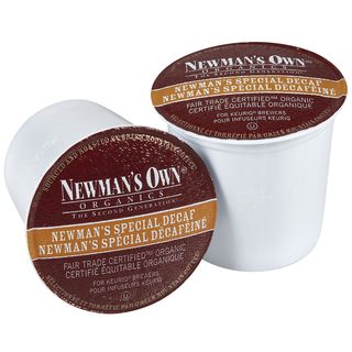 Newmans Own Special Decaf Coffee 96 count K cups for Keurig Brewers