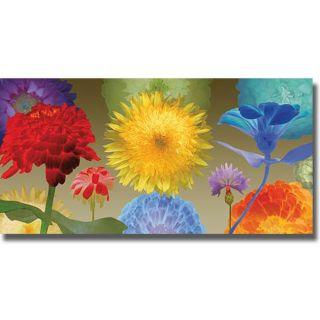 Robert Mertens Sunflower Fireworks Canvas Art