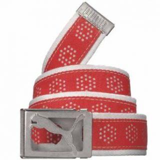 Puma Mens Draw Ribbon Web Belts Clothing
