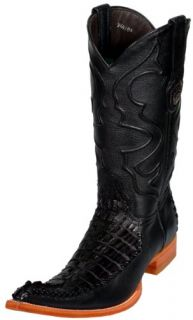 Design Caiman Tail Crocodile Leather Classic Riding 8737 Shoes