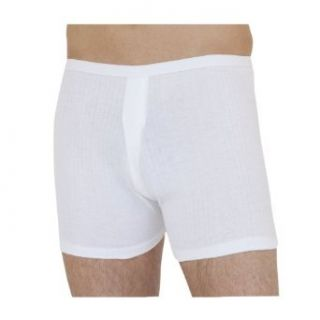 Mens Thermal Underwear Trunks (Pack of 2) (British Made