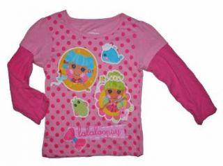 Lalaloopsy Toddler Girls Long Sleeve T Shirt (2T, Pink