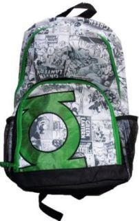 DC Comics Green Lantern School Backpack Back Pack Bag