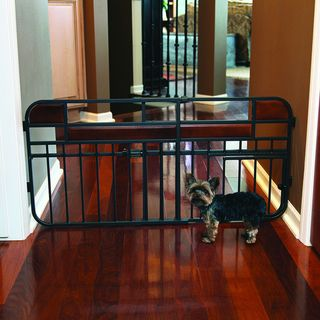 Carlson Design Studio Mini Tuffy Expandable Wood Metal Gate