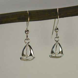 Jewelry by Dawn Sailboat Sterling Silver Earrings