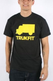 Trukfit   Mens Space Icon T shirt in Black, Size Large