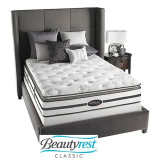 Beautyrest Classic Meyers Plush Firm Pillow Top Queen size Mattress