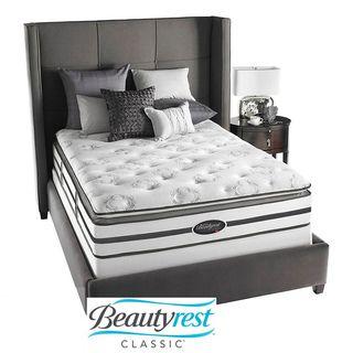 Beautyrest Classic Meyers Plush Firm Pillow Top Queen size Mattress