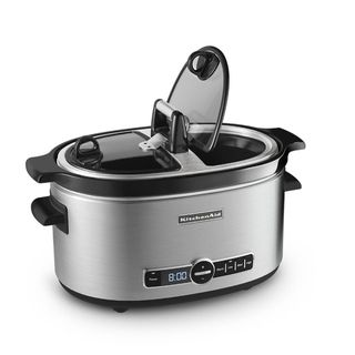 KitchenAid 6 quart Slow Cooker with Easy Serve Lid