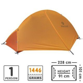 Marmot Eos 1 Person Tent  Pale Pumpkin/Terra Cotta  One