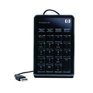 HP NW226AA Calcpad 100 Numeric KeyPad 10 K Black USB Keypad For Laptop