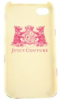 Juicy Couture iPhone 4 Case Hard Cover Linen Dotty