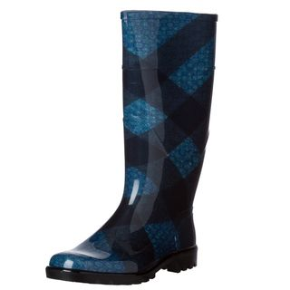 Burberry 3829458 Brit Check Rain Boots
