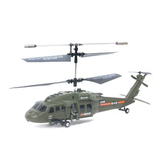 Madison Park 3.5 Channel Co axial Remote Control Black Hawk Helicopter