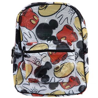Disney Mickey Mouse All over Print Mesh Backpack