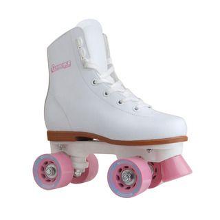 Chicago Skates Girls White/ Pink Rink Roller Skates