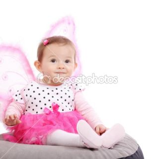 Cute little baby girl  Stock Photo © Nikola Spasenoski #6958962