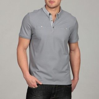 Calvin Klein Mens 3 button Polo Shirt