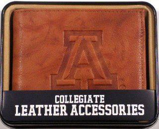 University of Arizona Wildcats Embossed Leather Billfold
