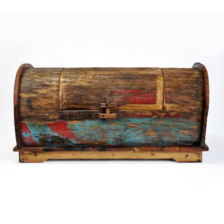 Ecologica Reclaimed Wood Storage Trunk