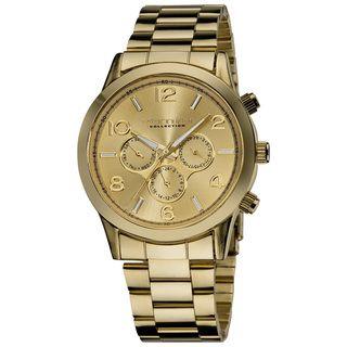Vernier Ladies Oversized Multi Function Chronograph Bracelet Watch