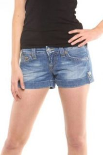 True Religion Jeans Shorts Jess, Color: Light Blue, Size