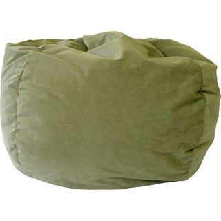 Hudson Industries Pear Microfiber Suede Extra Large Bean Bag