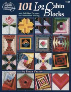 101 Log Cabin Blocks