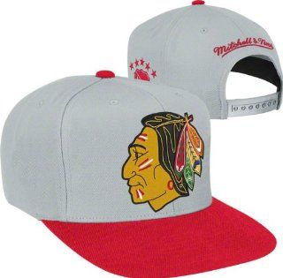 MITCHELL & NESS SNAPBACK 2 TONE BIG LOGO NHL CHICAGO