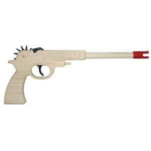 Rubberband Rubber Band Gun Colt 45 Pistol kids Toy Sports