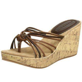 Madden Girls Womens Kuddlzz Sandal,Brown,7 M Shoes