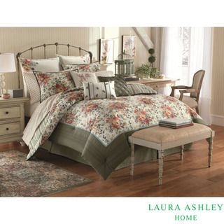 Laura Ashley Wakefield 4 piece Comforter Set
