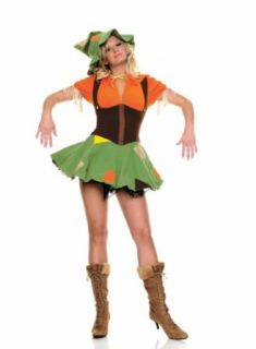 Cutie Scarecrow Costume Adult   Adult Large Clothing
