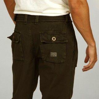 Buffalo by David Bitton Mens Padwa Belted Cargo Pants