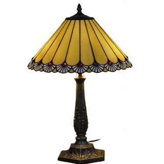 Handcrafted Touch Of Class Stained Glass Tiffany Style Table Lamp