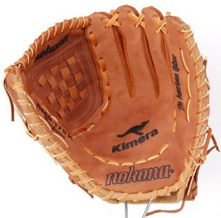 Nokona AMG175K 12 Inch Closed Web Buckaroo Hide Baseball