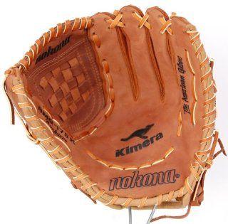 Nokona AMG175K 12 Inch Closed Web Buckaroo Hide Baseball